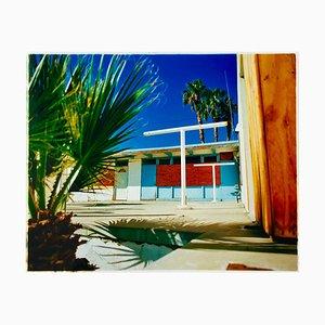 Richard Heeps, Motel Desert Shores, Salton Sea, California, Lámina fotográfica en color estadounidense, 2003