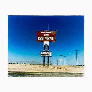 Sundowner, Salton City California - Roadside America Color Photography 2000