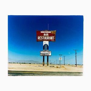 Sundowner, Salton City Kalifornien - Roadside America Color Photography 2000