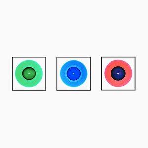 B Side Vinyl Collection - Medium Size Trio - Pop Art Color Photography 2014-2017