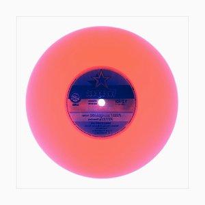 Colección de vinilo lado B, lado dos !!, rosa congo, fotografía pop art en color 2016
