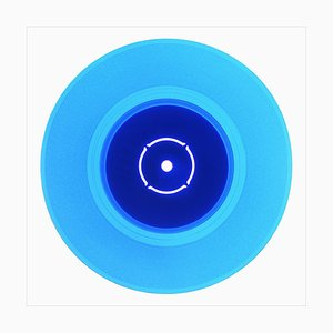 B Side Vinyl Collection, Double B Side, Blue, Pop Art Color Photography 2016