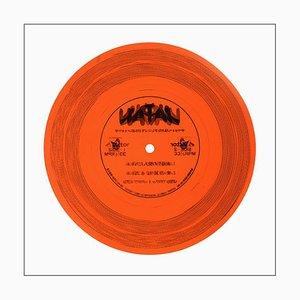 B-seitige Vinylsammlung, dreiunddreißig und ein Drittel, Pop-Art-Farbfotografie 2016