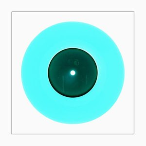 Colección B Side Vinyl, Reggae Blue, Fotografía en color de arte pop contemporáneo 2016