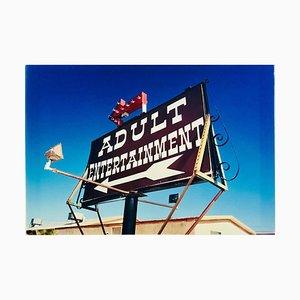 Adult Entertainment, Beatty, Nevada - Americana Pop Art Color Photography 2001