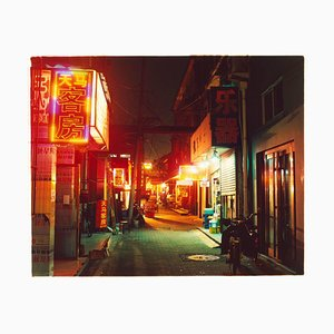 Hutong in der Nacht, Beijing - Chinese Colour Street Photography 2013