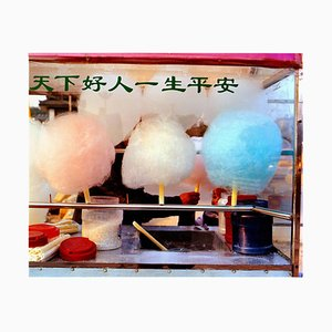 Zuckerwatte, Xuzhou, Jiangsu - Chinesische Farbfotografie 2013