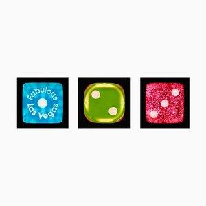 Dice Series - One, Two, Three - Three Zeitgenössische Pop Art Farbfotografie 2017