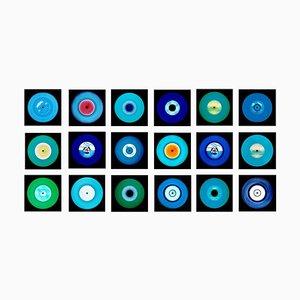Vinyl Collection, Eighteen Piece Blues installation - Pop Art Color Photography 2017