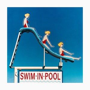 Swim-in-Pool, Las Vegas, Nevada - Americana Pop Art Farbfotografie 2003