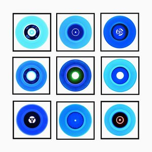 Vinyl Collection B Side Blues Installation - Pop Art Farbfotografie 2016-2019