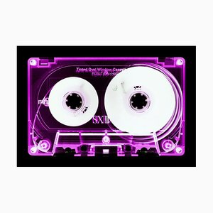 Tape Collection - Pink Tinted Cassette - Conceptual Color Music Art 2017