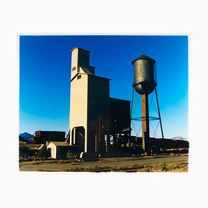 Railroad Depot, Ely Nevada, 2003 - after the Gold Rush - Architecture Photograph 2003