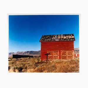 Schuppen - Railroad Depot, Nevada, 2003 - nach dem Goldrausch - Architecture Photo 2003