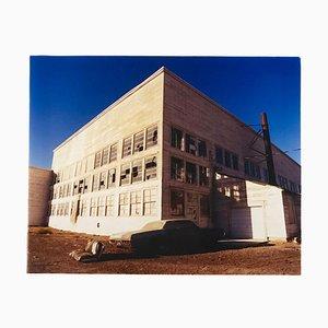 Hanger, Wendover, Utah - nach dem Goldgrauen - Architektur Farbfotografie 2003