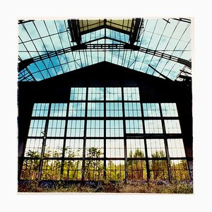Big Window, Lambrate, Milan - Industrial Architecture Italian Color Photography 2018