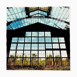 Grande Fenêtre, Lambrate, Milan - Industrial Architecture Italian Color Photography 2018