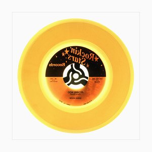 B Side Vinyl Collection, Rock N Roll, Pop Art Color Print, 2016