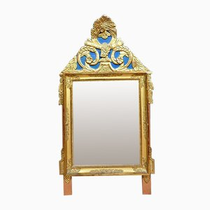 Regency Giltwood and Lacquered Mirror, 1880s