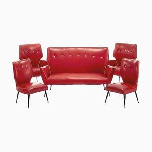 Complete Living Room Set, 1960s, Set of 5