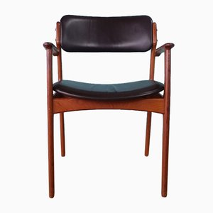 Danish Desk Chair by Erik Buch for O. D. Mobler, 1960s