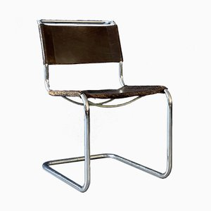 Vintage S33 Side Chairs by Mart Stam und Marcel Breuer for Thonet, 1984, Set of 2
