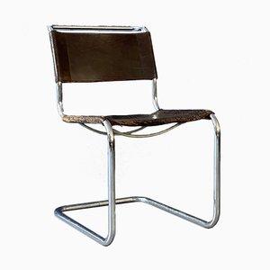 Vintage S33 Stühle von Mart Stam und Marcel Breuer für Thonet, 1984, 2er Set