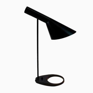 Dunkelgraue Vintage Tischlampe von Arne Jacobsen für Louis Poulsen