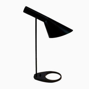 Vintage Dark Grey Table Lamp by Arne Jacobsen for Louis Poulsen