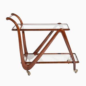 Mid-Century Italian Bar Trolley by Cesare Lacca