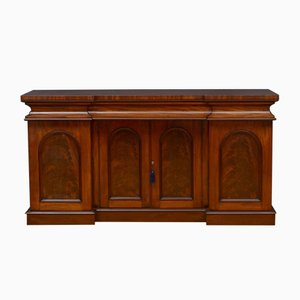 Early Victorian Mahogany 4-Door Sideboard