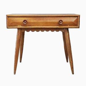 Oak Drawer Desk with Flounce by Paolo Buffa, 1950s