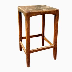Antique High Stool