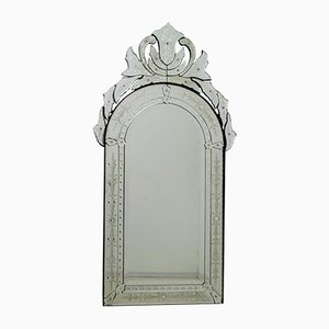 Mid-Century Modern Venetian Bevelled Mirror, 1950s