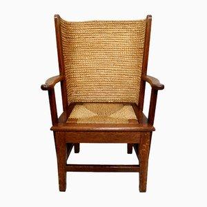 Antique Scottish Orkney Oak Children''s Chair
