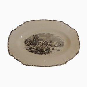 Plate from Societe Ceramique Maestricht, 1950s