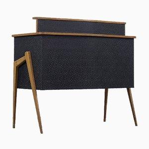 Mid-Century Modern Italian Bar Cabinet & Desc, 1950s