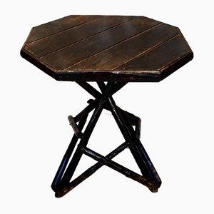 Rustic Pine Folk-Art Table