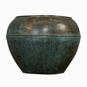 Antique English Copper Planter or Pot fromm Henry Loveridge, 1900s
