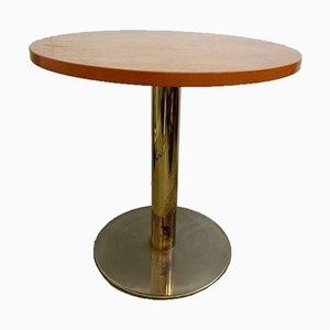 Tavolino in ottone, anni '80