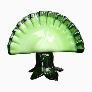 Vintage Green Napkin Holder from Made Murano Glass, 1950s