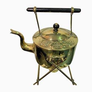 Antique English Brass Kettle