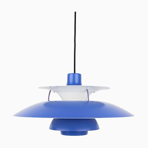 Vintage Danish Model PH 5 Pendant Lamp by Poul Henningsen for Louis Poulsen, 1970s