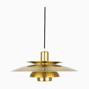 Vintage Danish Ceiling Lamp from E.S. Horn