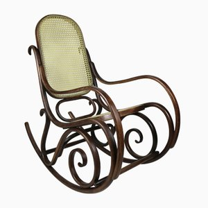 Vintage Rocking Chair by Michael Thonet