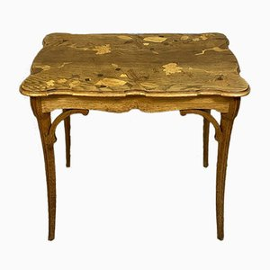 Antique Ceremonial Inlaid Side Table