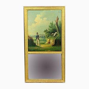 Napoleon III Giltwood Mirror, 1850s