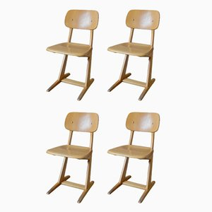 Chaises pour Enfant de Casala, 1960s, Set de 4