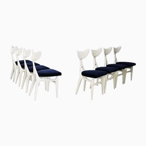 Dining Chairs by Ennio Canino and Viviana Rizzi for Arredamenti Roma, 1950s, Set of 8