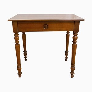 French Louis Philippe Writing Table Desk or Side Table, 19th Century